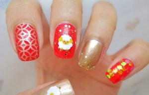Nail-design-with-goats-and-sheep-13