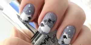 Nail-design-with-goats-and-sheep-2