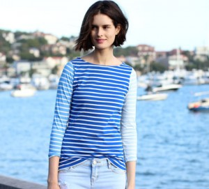 sjv0rqtxBY-CHILL-FASHION-BLOG-Chloe-Hill-in-Boden-Clothing-blue-striped-top-at-Rosebay-NSW