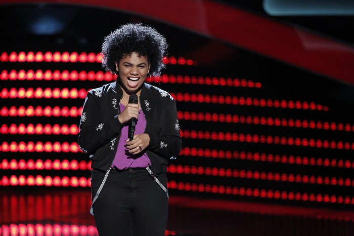 "THE VOICE -- ""Blind Auditions"" -- Pictured: Wé McDonald -- (Photo by: Tyler Golden/NBC/NBCU Photo Bank via Getty Images)"
