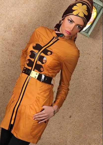 مدل جدید مانتو دخترانه