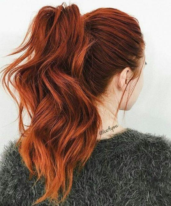 رنگ موی مسی