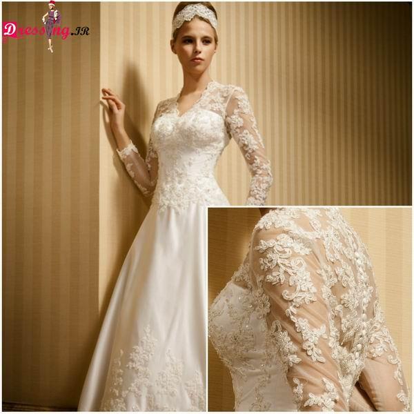 لباس عروس ساده 2015