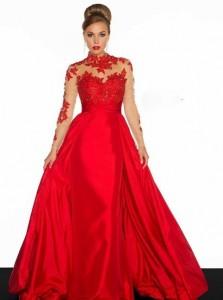 جدیدترین لباس مجلسی قرمز 2015