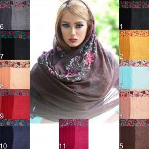 زیباترین نمونه های شال و روسری مجلسی زنانه