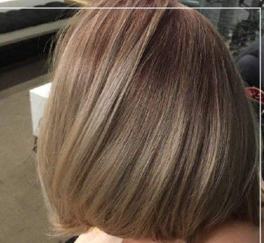 رنگ مو دودی طلایی