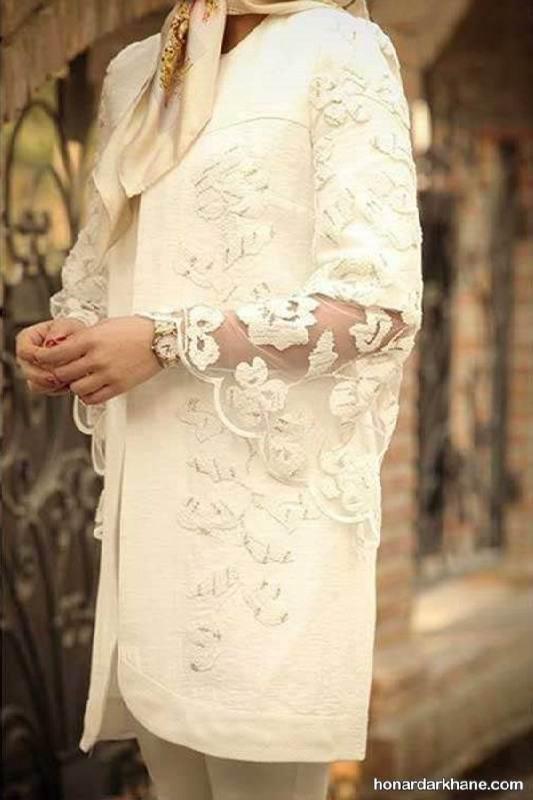 لباس عروس سر سفره عقد