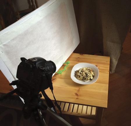 دیزاین غذا برای عکس گرفتن