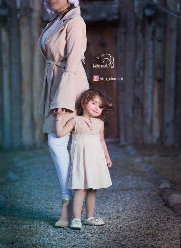 ست مانتو مادر و دختر