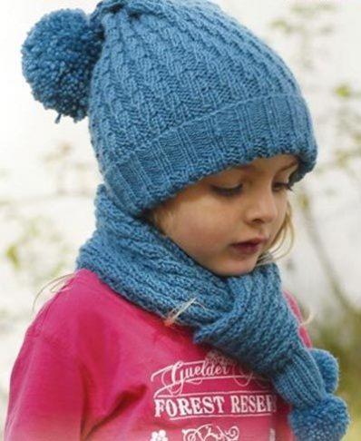 آموزش بافت کلاه و شال گردن