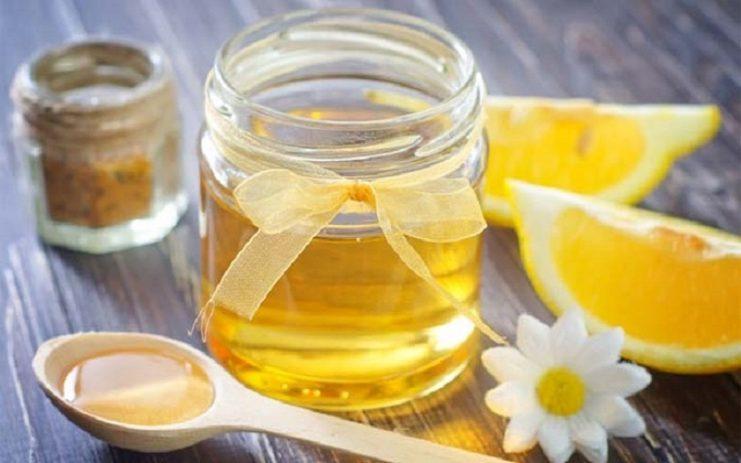 آب ولرم لیمو و عسل