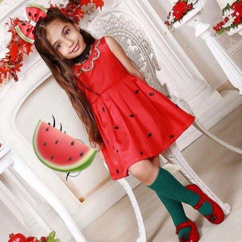 مدل لباس بچگانه برای شب یلدا