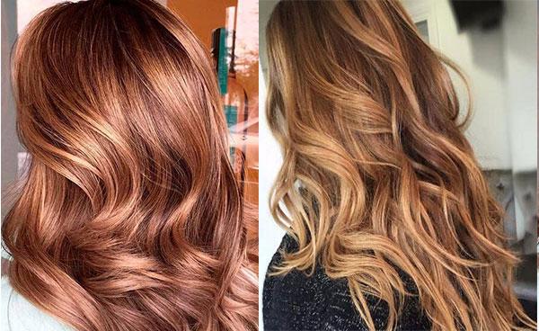 رنگ مو کاراملی