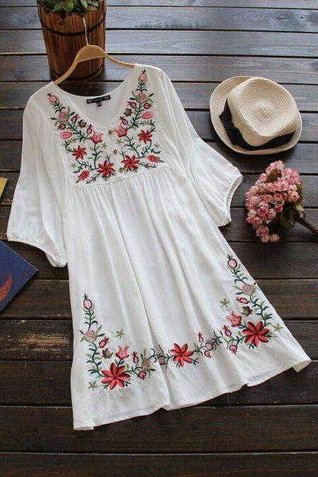 پیراهن تابستانی زنانه