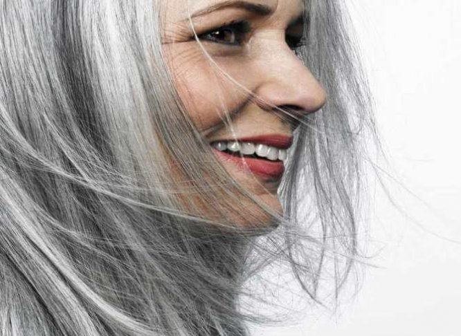 رنگ کردن موهای سفید