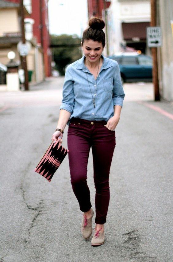 ست کردن لباس جین