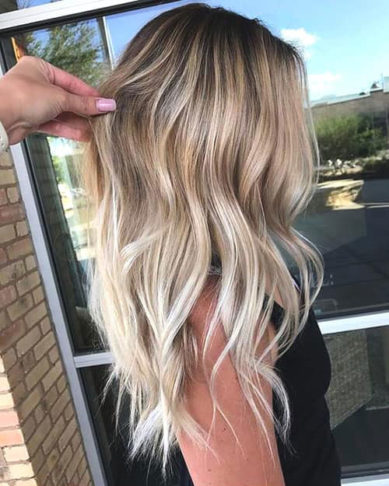 رنگ مو شامپاینی