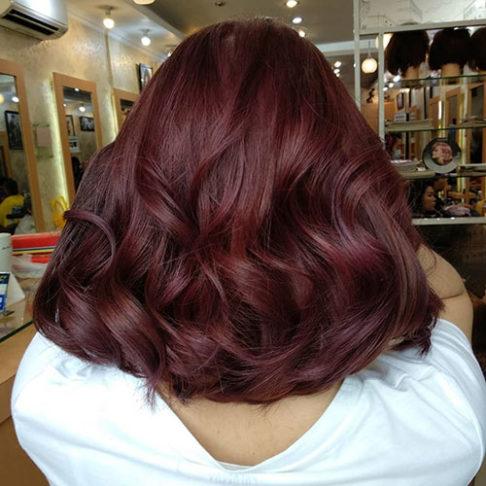 رنگ موی شرابی