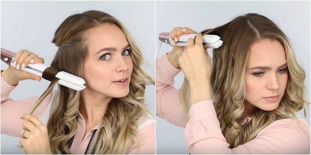 فر کردن موها