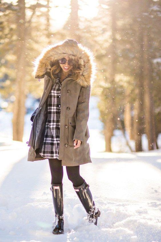 استایل زمستانی