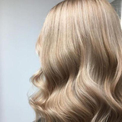 رنگ موی بژ روشن