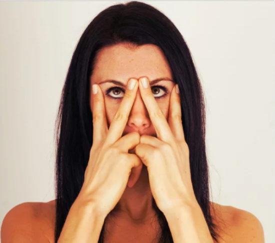 حرکت ورزشی صورت