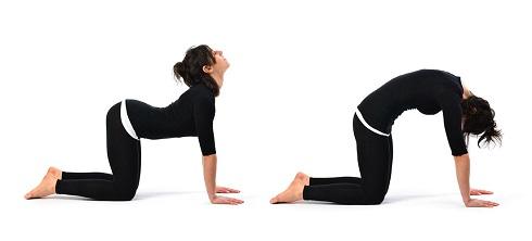 حرکات یوگا برای کاهش استرس
