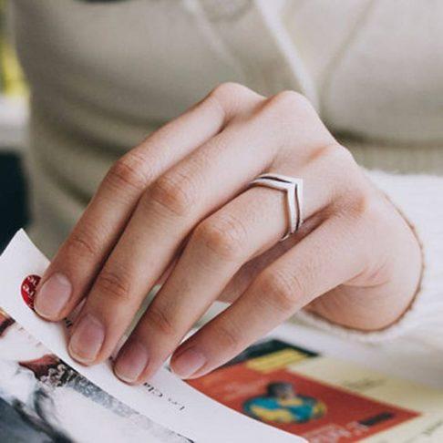انگشتر ظریف دخترانه
