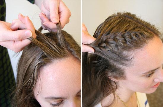 آموزش بافت مو فرانسوی یک طرف سر + تصاویر