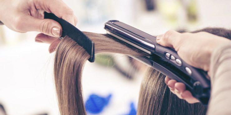 اتو کشیدن موها
