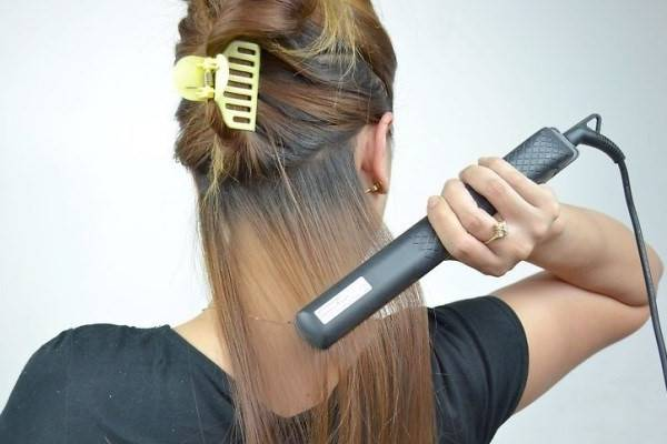اتو کردن موها