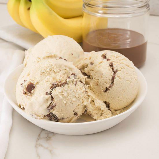 بستنی رژیمی و مغذی خانگی