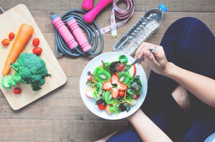 غذا خوردن بعد از ورزش
