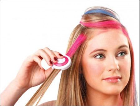 معرفی انواع رنگ موی موقت و روش استفاده از آنها