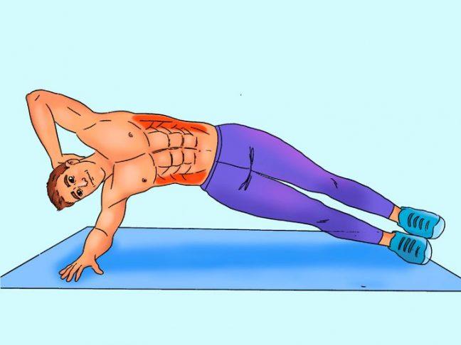 10 ورزش موثر برای ساختن سیکس پک شکم در خانه