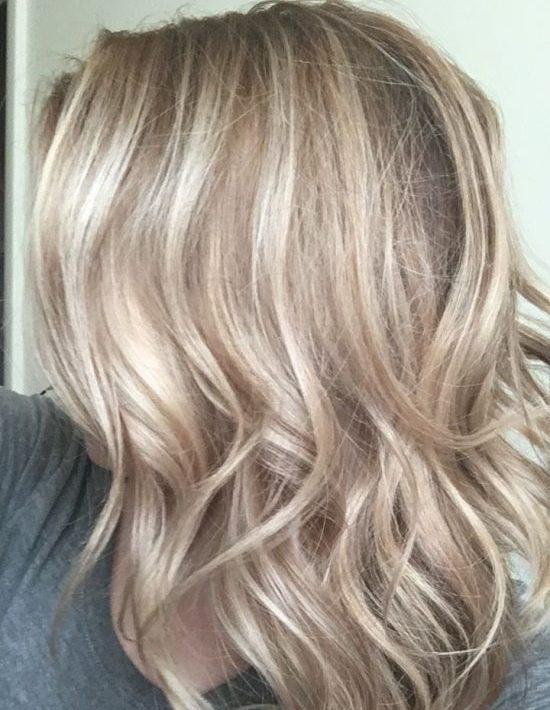 رنگ مو خاکستری شنی