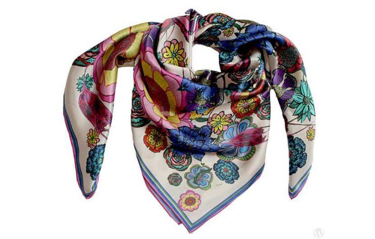 روسری ابریشمی